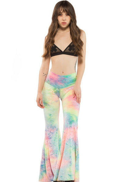 Bubble Tie Dye Velvet Yoga Bells