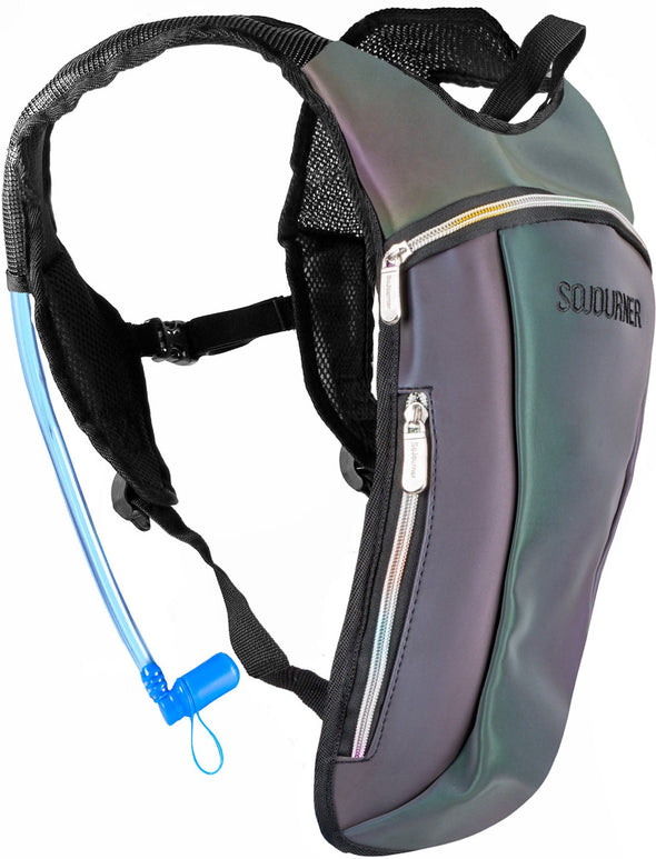 Fanny Pack Hydration Pack Backpack - 2L Water Bladder - Luminous - Green - SoJourner Bags
