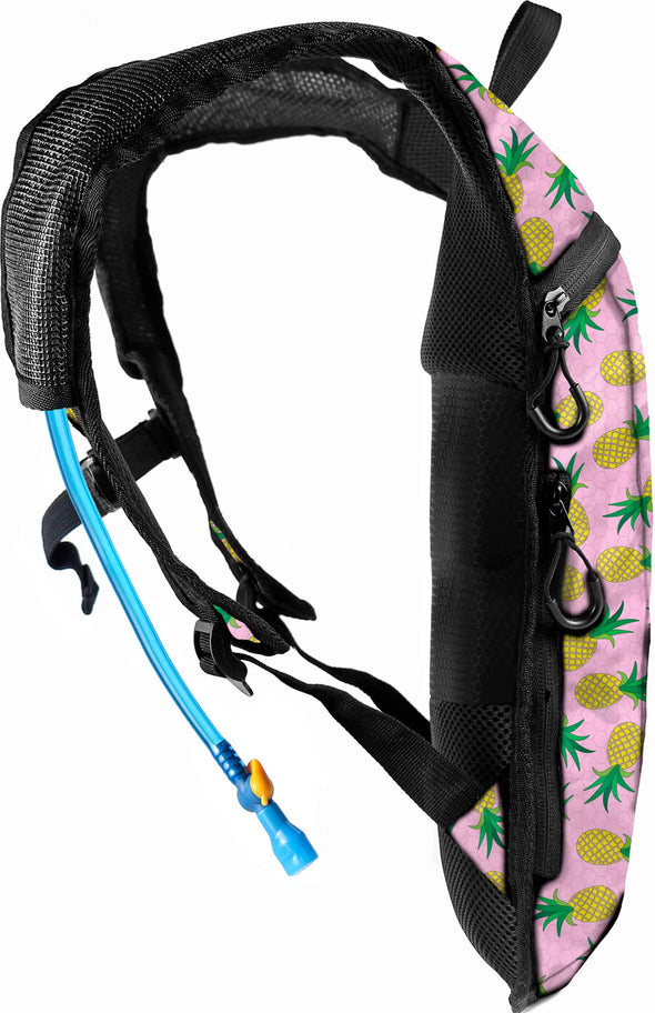Fanny Pack Hydration Pack Backpack - 2L Water Bladder - Pineapple - SoJourner Bags