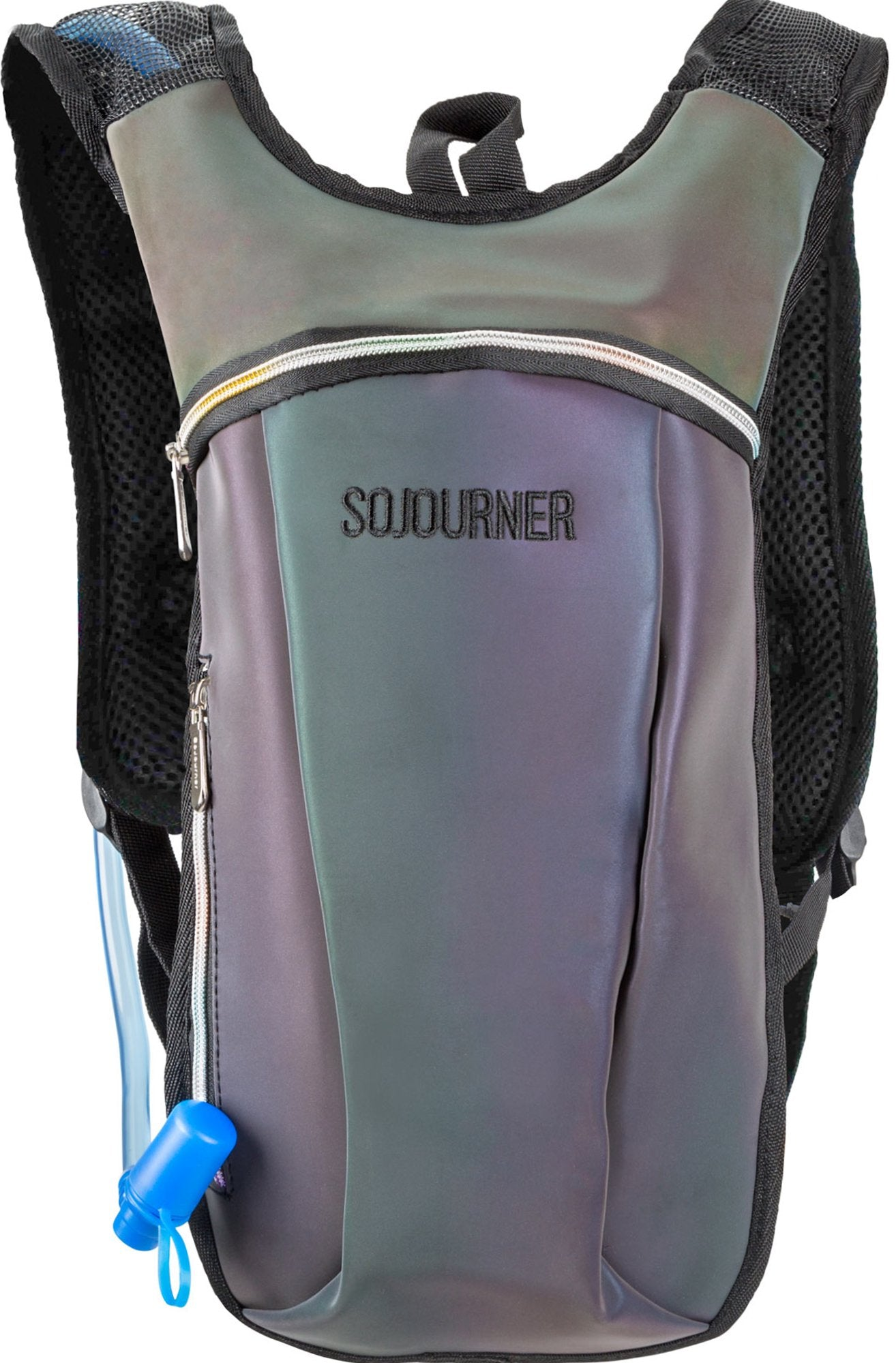79c54e47ce Hydration Pack Backpack - 2L Water Bladder - Iridescent Blue ...