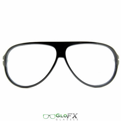 GloFX Aviator Style Diffraction Glasses - ravernationshop