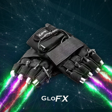 GloFX LZR Laser Gloves- Multi-Color - ravernationshop