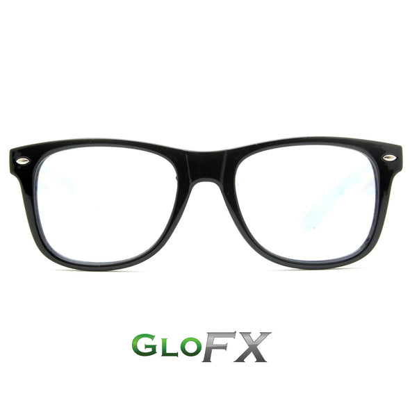 GloFX Ultimate Diffraction Glasses- Black - ravernationshop