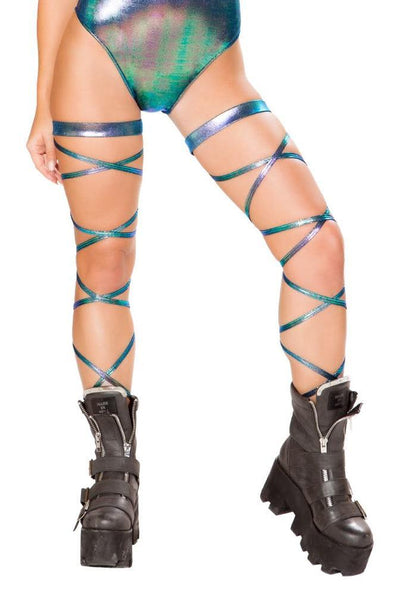 Leg Strap with Attached Garter - ravernationshop
