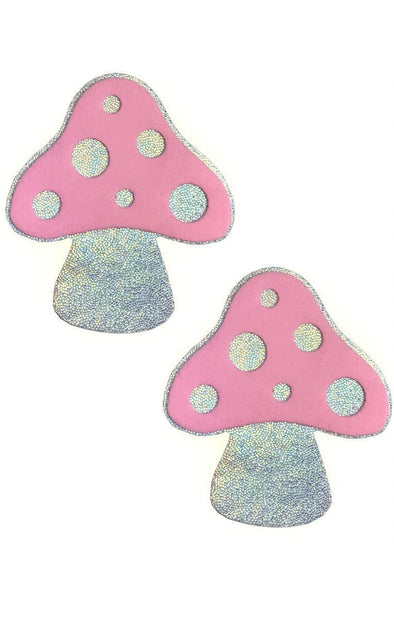Mushroom Pasties in Light Pink - ravernationshop