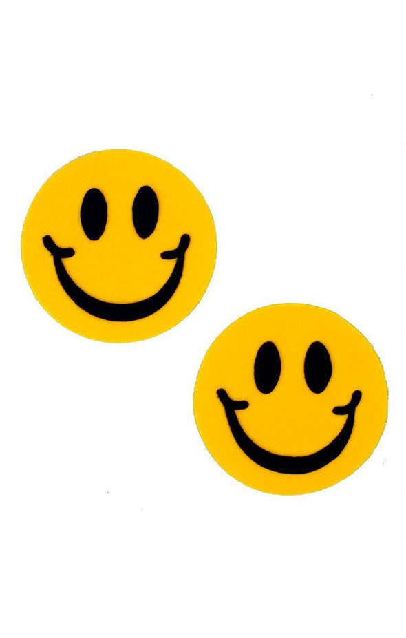 Smiley Pasties in Yellow - ravernationshop