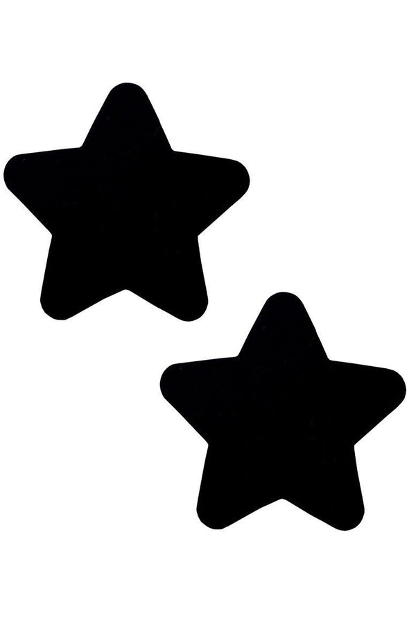 Star Pasties in Black - ravernationshop