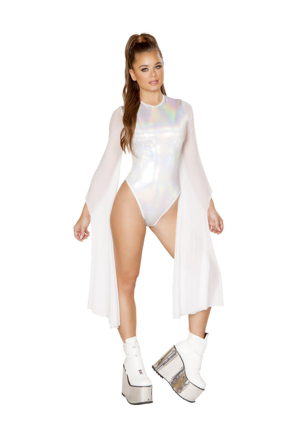 Flared Sleeve Bodysuit - ravernationshop