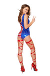 Patriotic Flag Bodysuit - ravernationshop