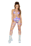 Strappy Bodysuit with O-Ring Detail - ravernationshop