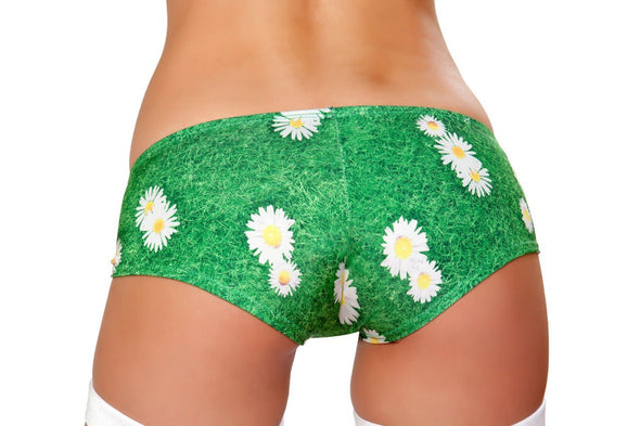 Booty Shorts- Grass - ravernationshop