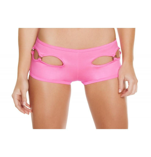 Cut-out Shorts - Pink - ravernationshop
