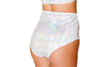 High-Waisted Shorts- White - ravernationshop
