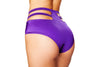 High-Waisted Strapped Shorts - ravernationshop