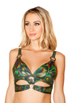 Halter Top- Cutout with Ring Detail - ravernationshop