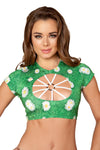 Top with Strapped O-Ring Detail - ravernationshop