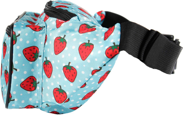Fanny Pack Strawberry Fanny Pack - SoJourner Bags