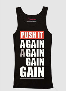 Push Again Again Tank Top
