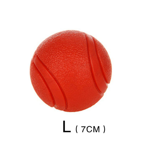 HOOPET Dog Toy Rubber Ball Bite-resistant Dogs Puppy Teddy Pitbull Pet Supplies