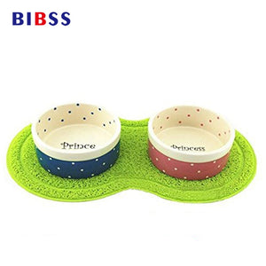 Cat And Dog Food And Water Bowl Mat