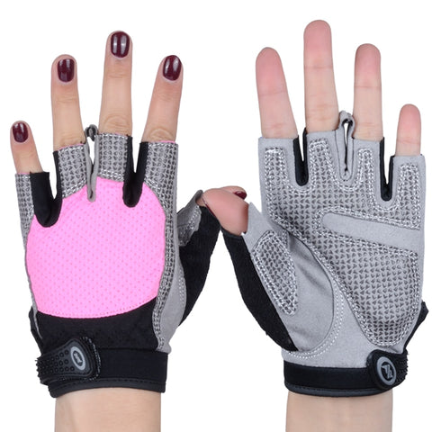 NO PAIN NO GAIN Fitness Weight Lifting Gloves Breathable Women Man Anti-skid Protective Sports Gloves Gym Training Sport 206