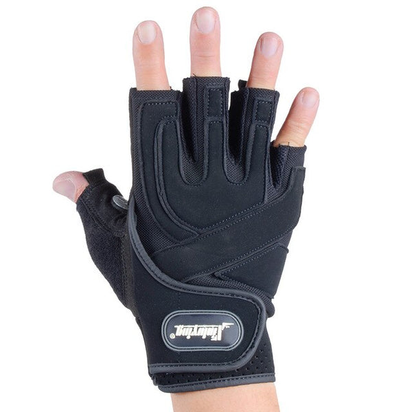 NO PAIN NO GAIN Fitness Weight Lifting Gloves Breathable Women Man Anti-skid Protective Gloves