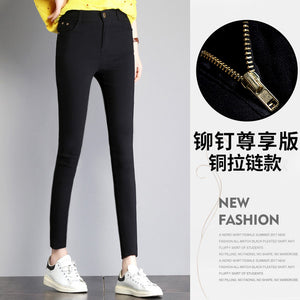 Women's Spring Stretch High Waist Plus Size Leggings