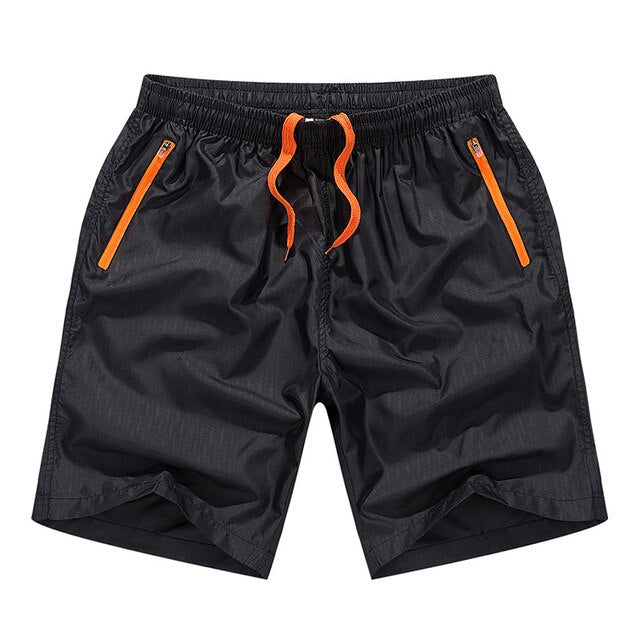 Men's Casual Calf-Length Jogger Fitness Workout Shorts
