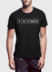 Founder Half Sleeves T-shirt