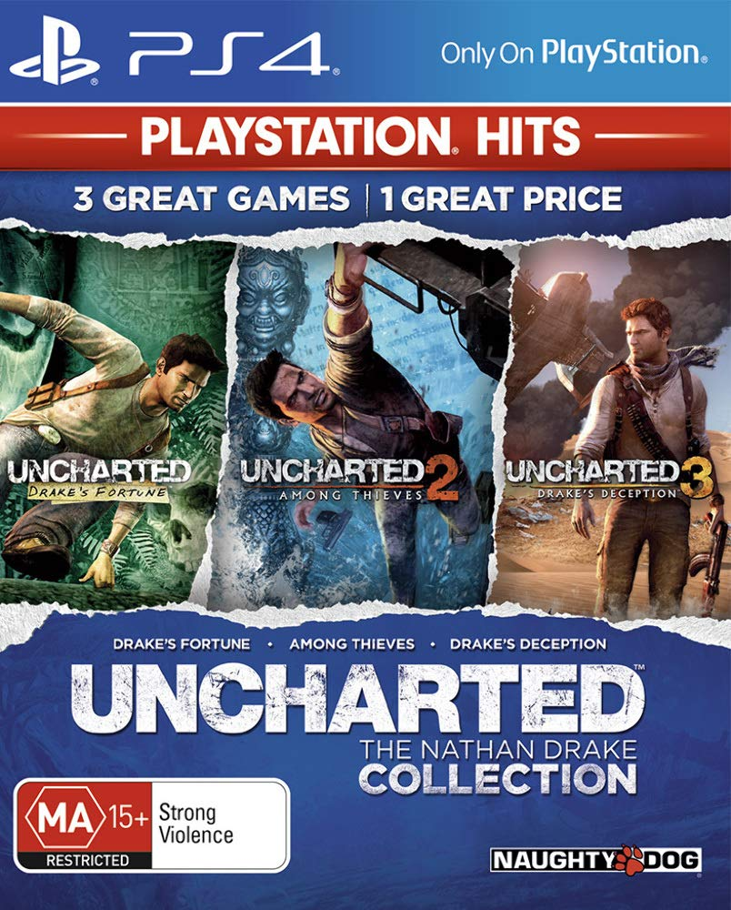 Uncharted The Nathan Drake Collection (PlayStation Hits)