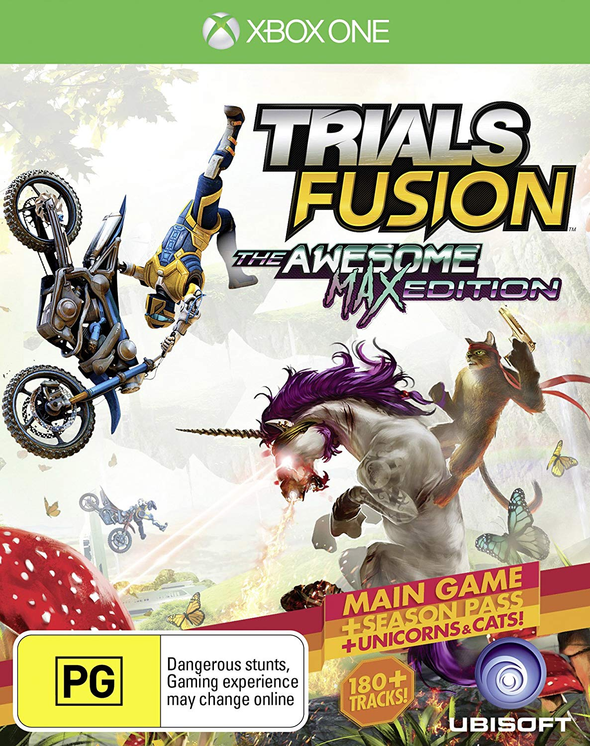 TRIALS FUSION THE AWESOME MAX EDITION ANZ XBOX ONE