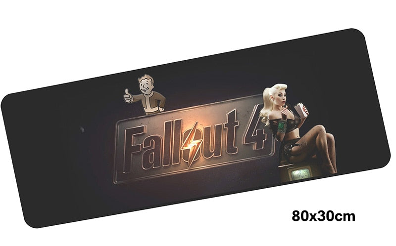 Fallout 4 Giant Mouse Pad 800x300mm Best PC Gaming Pad HD Print