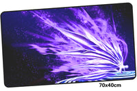 Neon Genesis Evangelion Purple Large Mouse Pad 700x400mm Best PC Gaming Pad HD Print