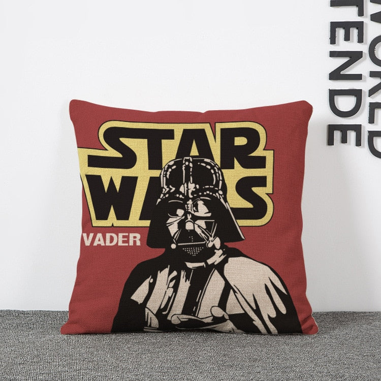Star Wars Painted Pillow Case Linen Cushion Covers