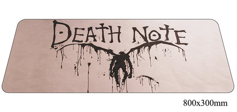 Death Note Ryuk Large Mouse Pad 800x300X2mm Best PC Gaming Pad HD Print