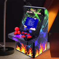 8-Bit Mini Arcade Game Machine with 200 Classic Games Built-In Portable Handheld Console