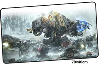 Warhammer 40k Castle Large Mouse Pad 700x400mm Best PC Gaming Pad HD Print
