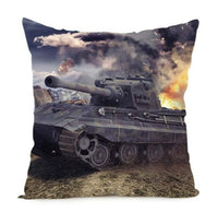 World of Tanks German Tiger Panzer Collection Cushion Covers