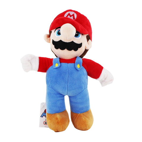 Super Mario Bros Complete Cast Plush Toys