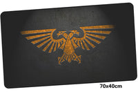 Warhammer 40k Logo Large Mouse Pad 700x400mm Best PC Gaming Pad HD Print