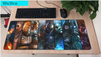 Mass Effect Ten Characters Large Mouse Pad 800x300mm Best PC Gaming Pad HD Print