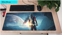 Mass Effect Andromeda Large Mouse Pad 800x300mm Best PC Gaming Pad HD Print