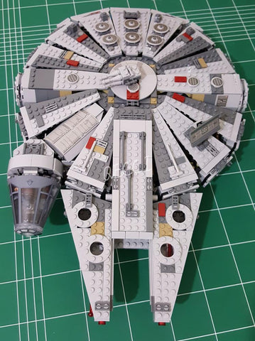 2019 LEPIN 05007 Star Series Wars Millennium Falcon Space Ship Building Block Toys Gift Compatible LEGOings