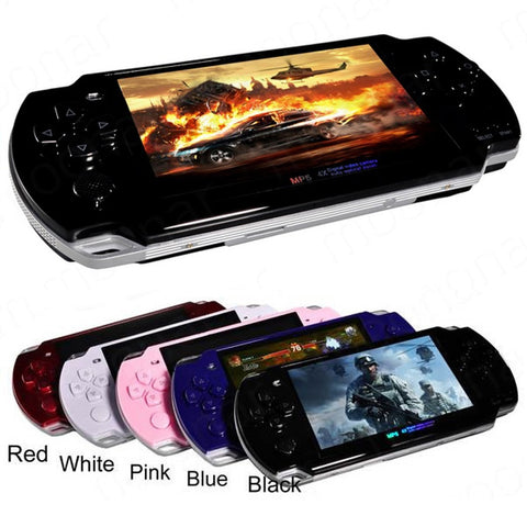 2019 Bilt-in 5000 games Support AV Out 8GB 4.3 Inch Handheld Game Player MP3 MP4 MP5 Player Video Camera Portable Game Console