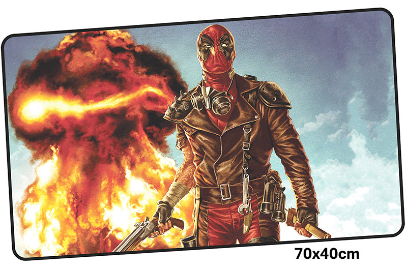 Deadpool Explosions Large Mouse Pad 700x400X3mm Best PC Gaming Pad HD Print