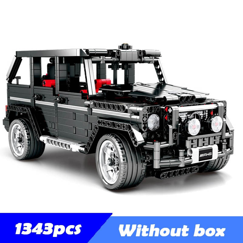 Technical Series Mercedes-Benz Big G Model Building Block Set Compatible with Lego