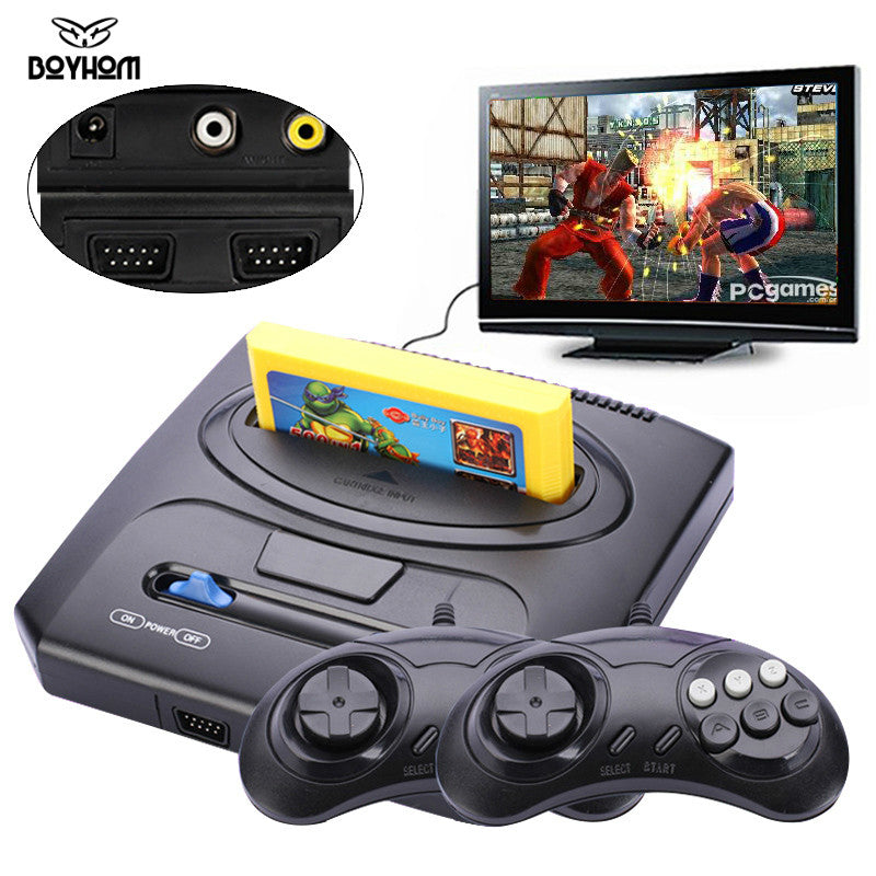 Classic Game Console 8 bit with 500 in 1 Retro games Double Gamepads PAL & NTSC system