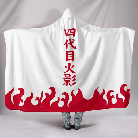 Naruto Dragon Ball Hooded Throw Blanket Sherpa Fleece Wearable 5 Options Available