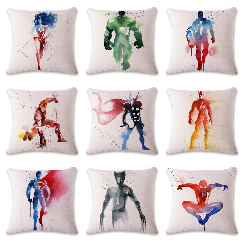 Marvel Super Hero Cushion Case Covers