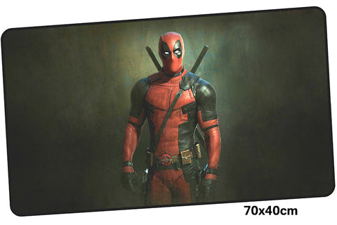 Deadpool Portrait Large Mouse Pad 700x400X3mm Best PC Gaming Pad HD Print
